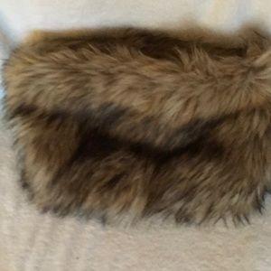 Loft Faux Fur neck wrap